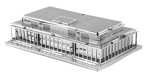 Kennedy Center (Architecture) Metal 3D Puzzle