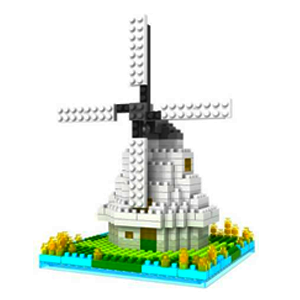 Windmill (Architecture, LOZ Diamond Block)
