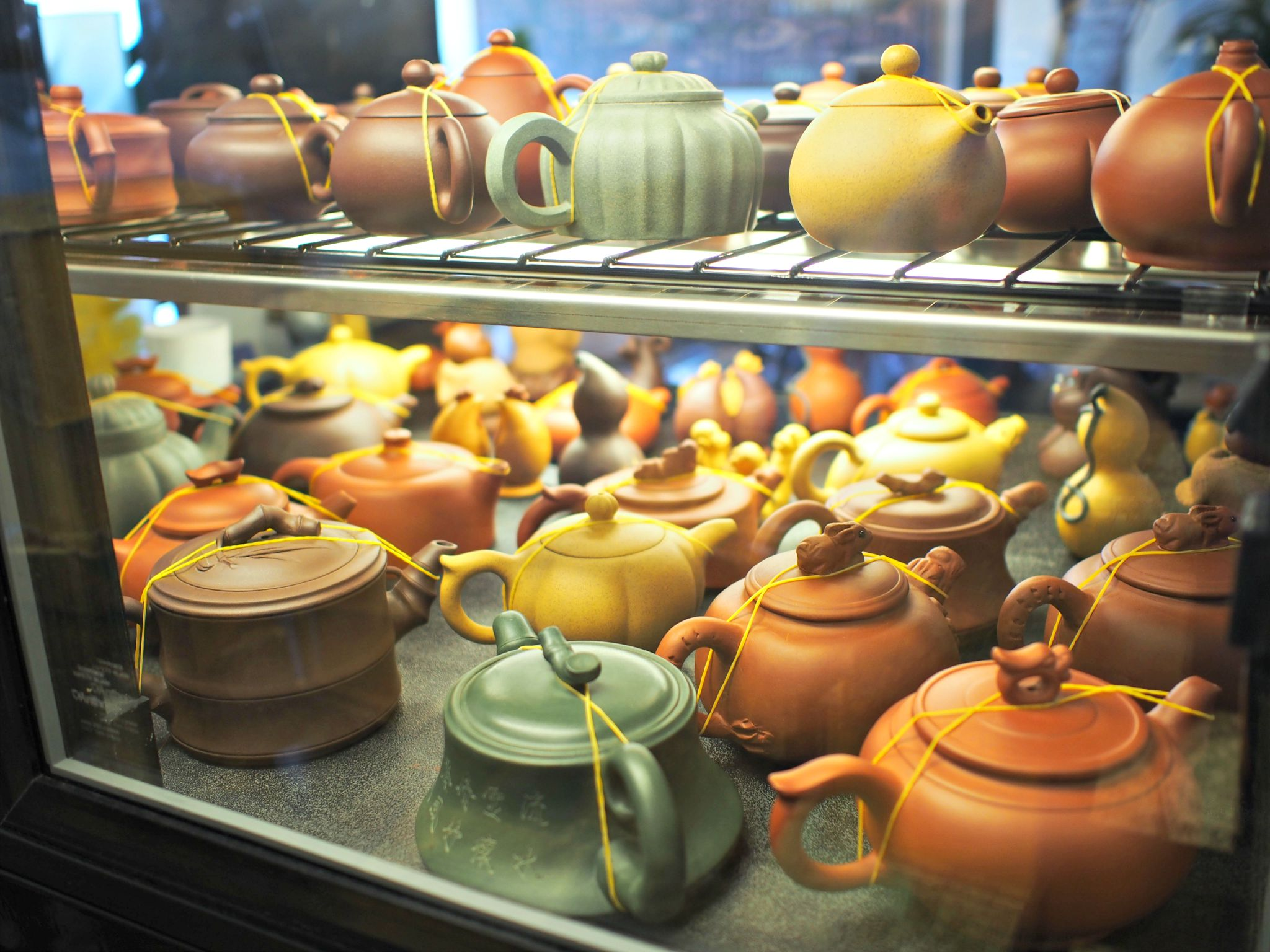 Clay tea pots s