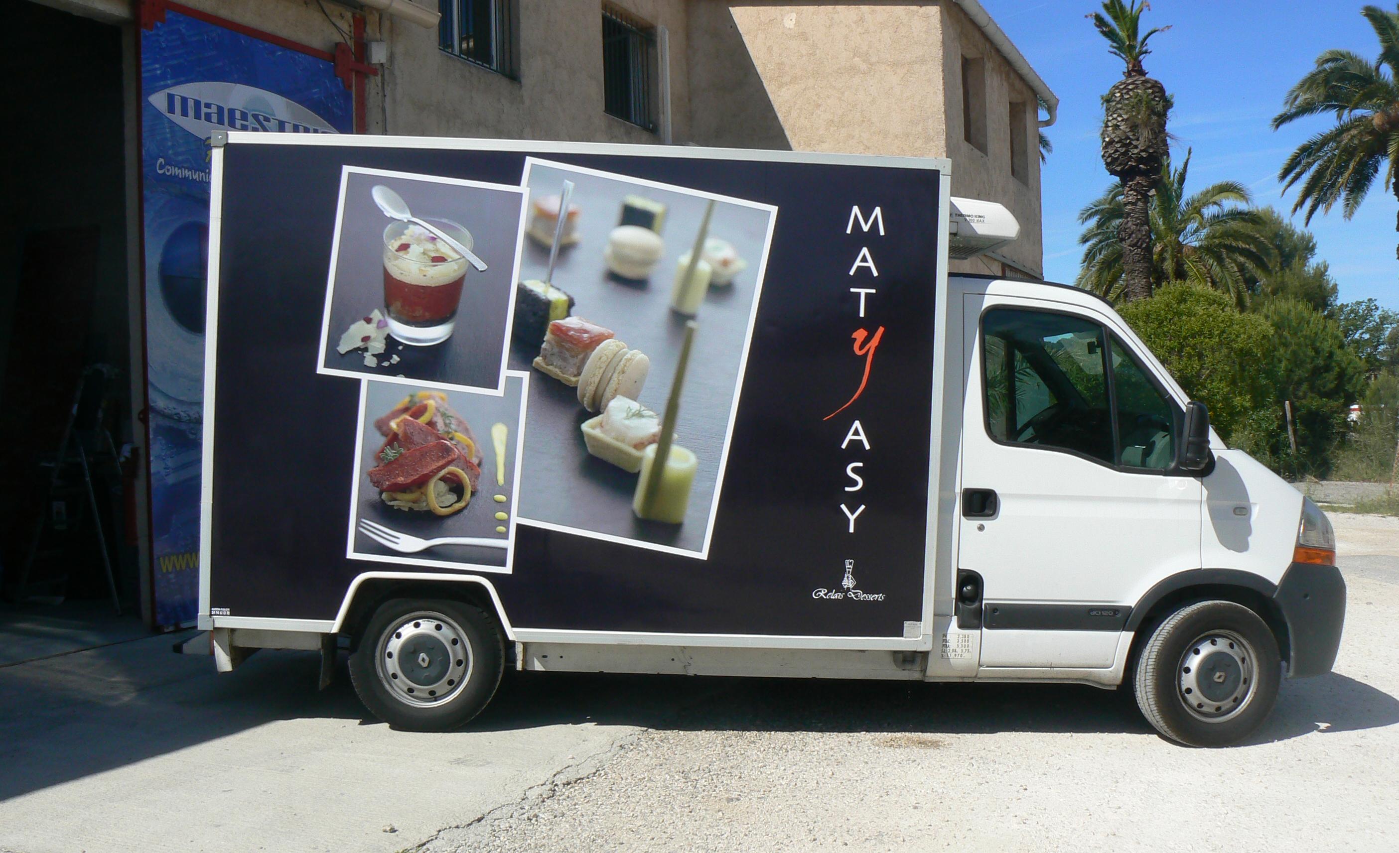 marquage camion frigorifique