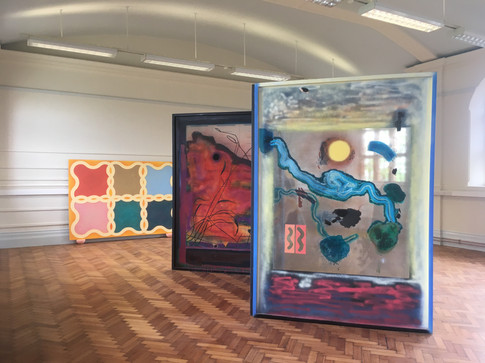 Installation view, Herne Hill Library, 2019