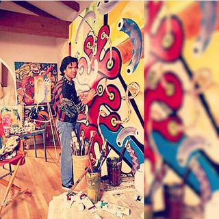 Brosnan in the Studio