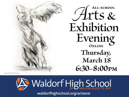 Arts & Exhibition Evening Online - Thu Mar 18, 6:30pm
