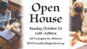 Open House Sunday Oct 24