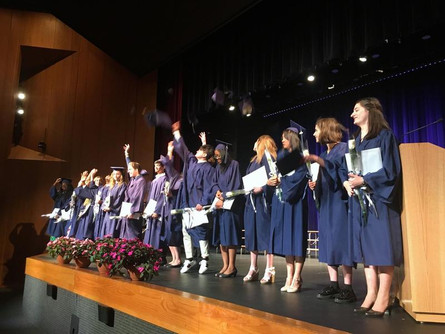 Commencement of the Class of 2019!