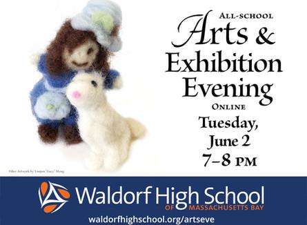 Arts & Exhibition Evening Online - Tues June 2, 7pm