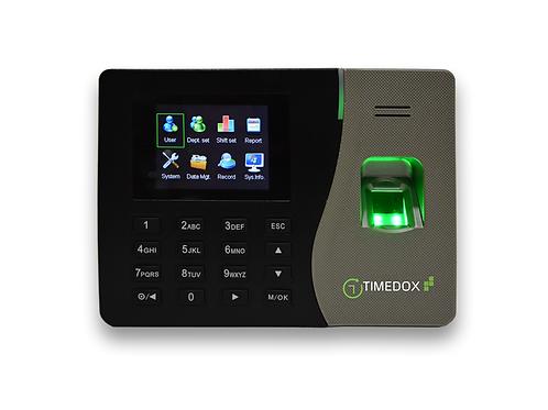 Silver Plus Net- שעון נוכחות טביעת אצבע סיסמא או כרטיס הורדת נתונים אוטומטית