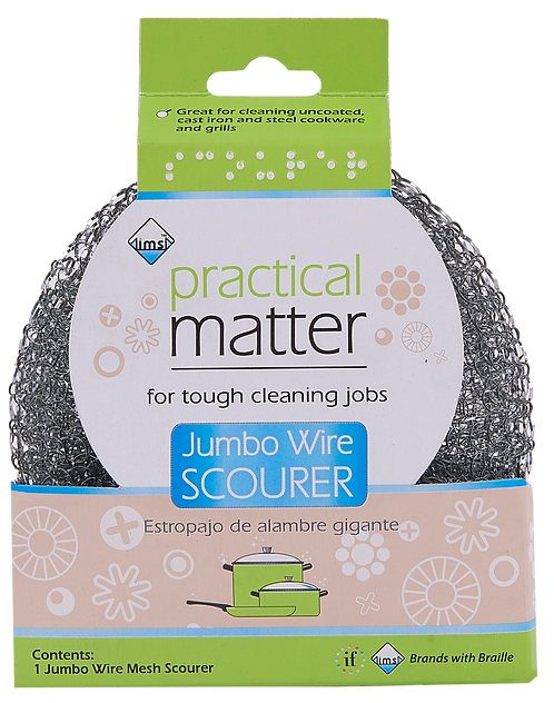 Jumbo Wire Scourer