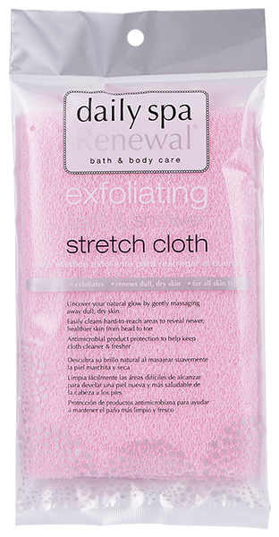 Exfoliating Bath & Shower Stretch Cloth