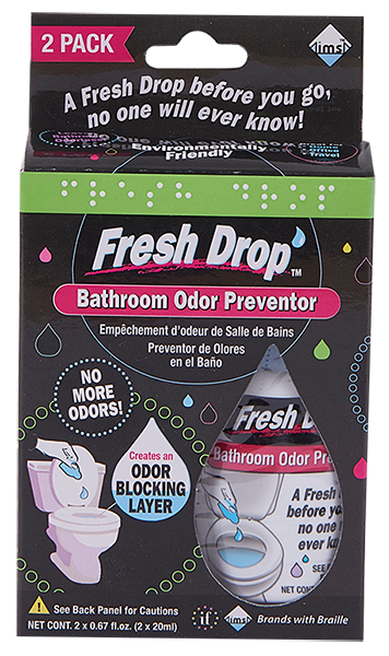 Bathroom Odor Preventor 20ml - 2pk