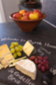 Myrtle House welcome Cornish Cheese board
