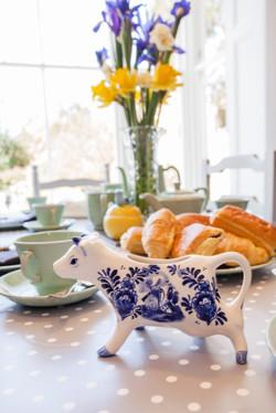 Pretty china mini Myrtle milk jug