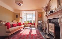 Elegant sitting room at Myrtle House