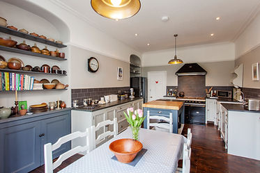 Bespoke kitchen at Myrtle House Penzance