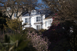 Myrtle House from Morrab Gardens