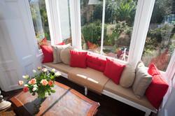 Sitting room bay window seat