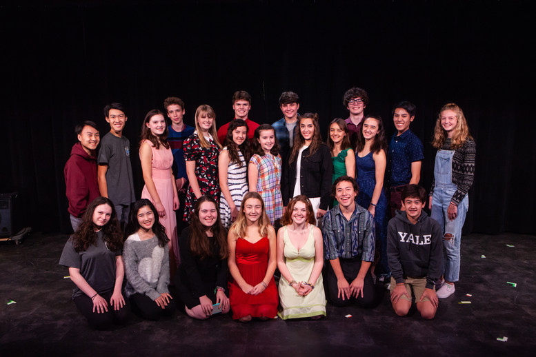 "Cast, Crew, and Creative Team of ""Change"""