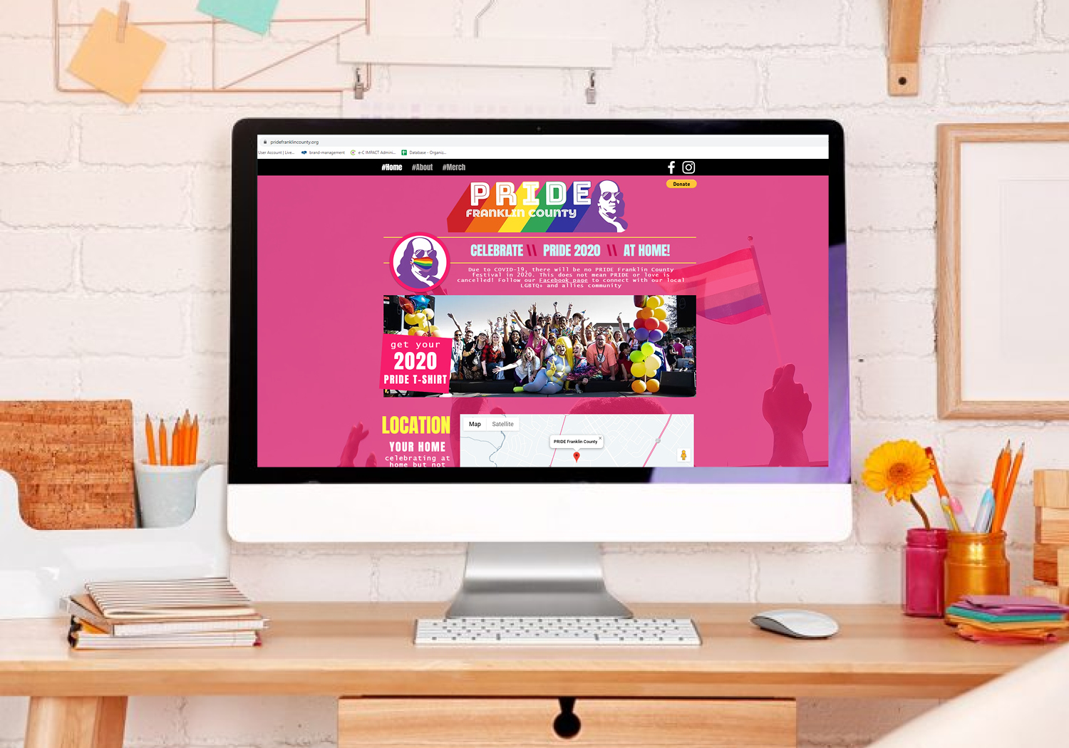 Pride Website