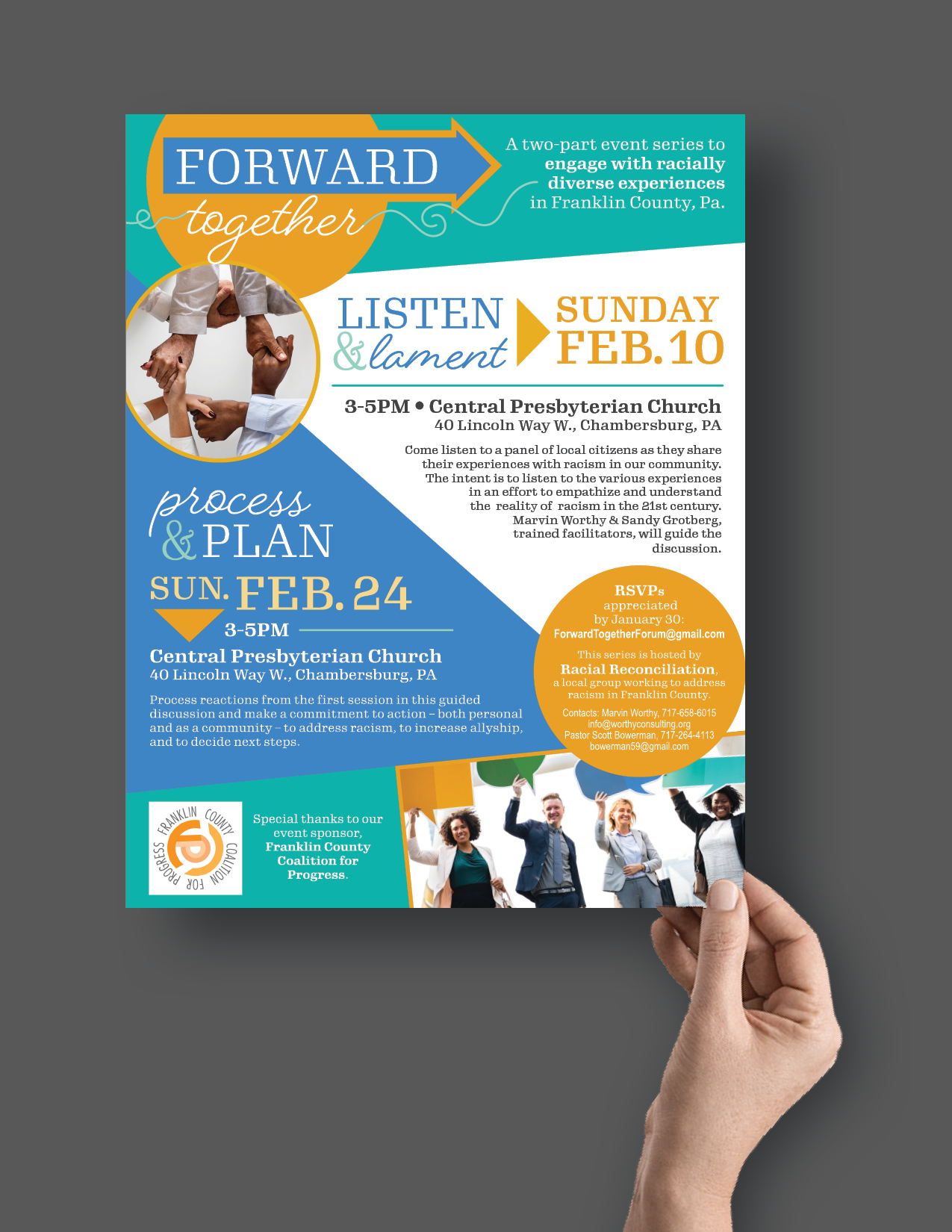 Forward Together Flyer