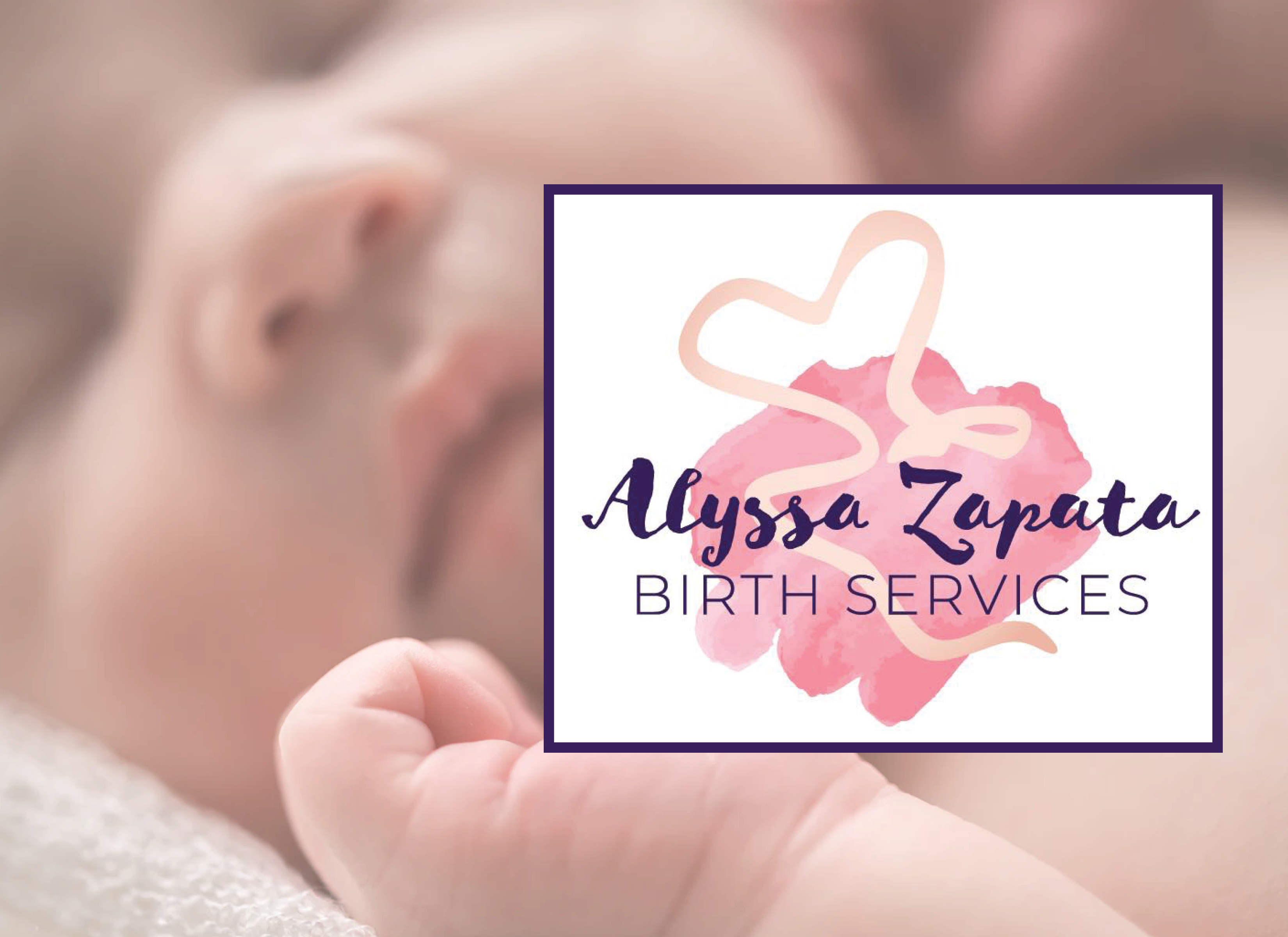 Alyssa Zapata Birth Services Logo
