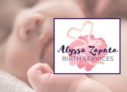 Alyssa Zapata Birth Services Logo