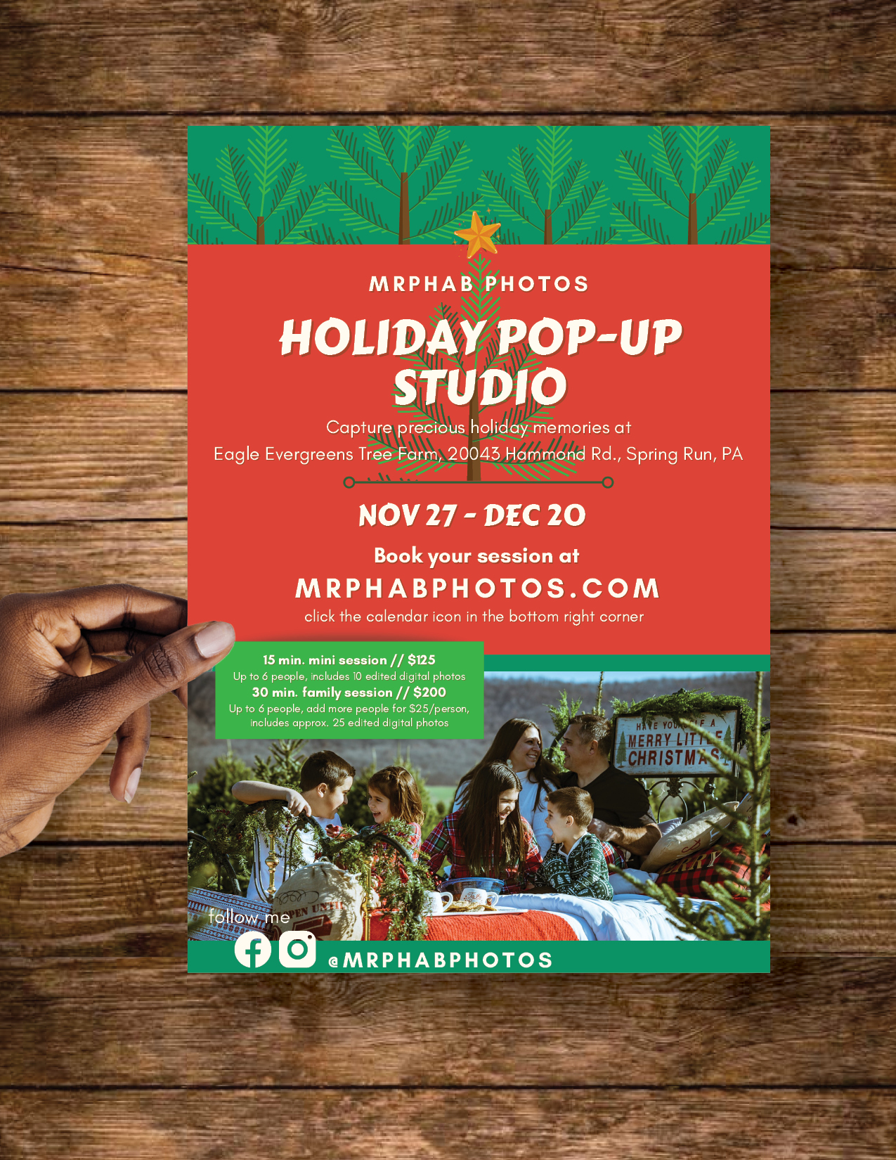 Phab Pop-up Flyer