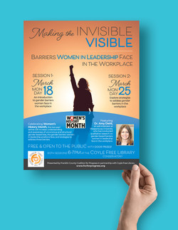 Women's Event Flyer
