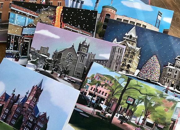 Syracuse Landmark Note Cards
