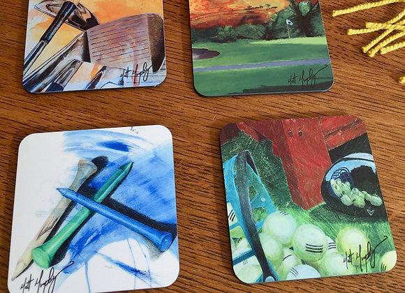 Matt Murphy Golf Coasters