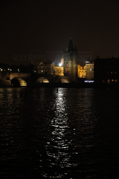 Prague by the river