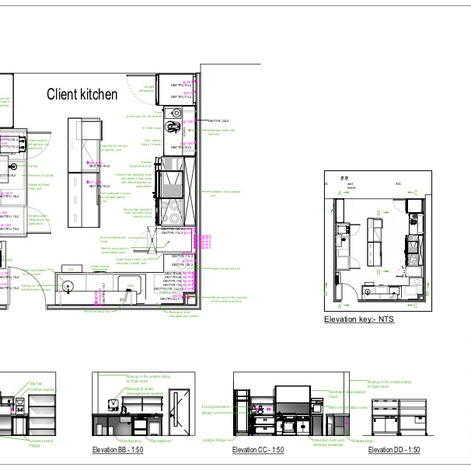 Office kitchen layout