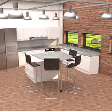 Photo realistic interior