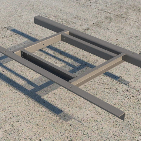 Industrial frame