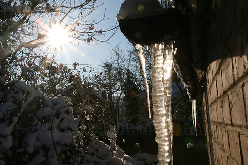 Sun and Icicle