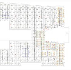 Office lighting layout