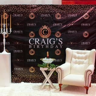 Craig's Luxury Champagne Birthday Soiree 11