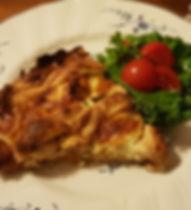 Kyckling och grönkålspaj med mozzarella