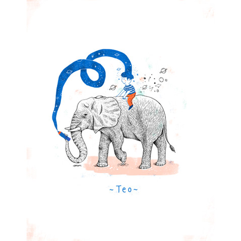 Teo et l'éléphant