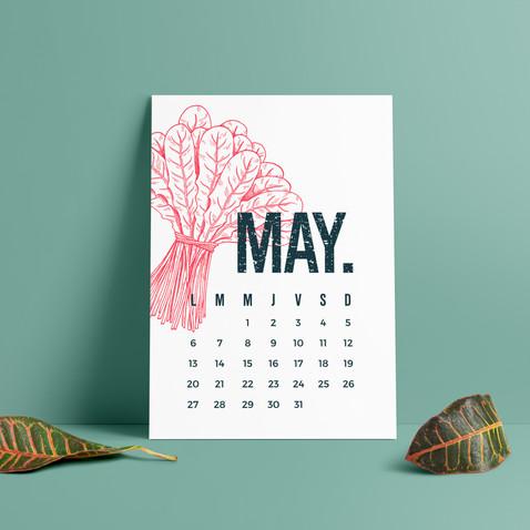 Veoverde Calendar 2019