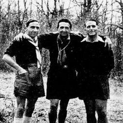 Jean-Louis Foncine, écriain scout