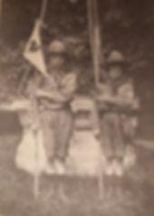 Paul et Marcl Coze en 1913