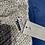 Thumbnail: Châle en laine gris clair