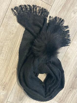 Écharpe noire Made in🇫🇷
