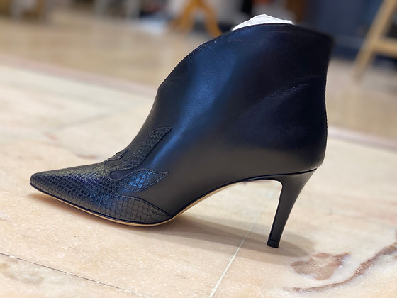 Boots de cuir Pinko