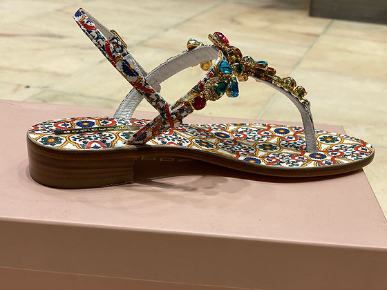 Sandale multicolore Eddicuomo