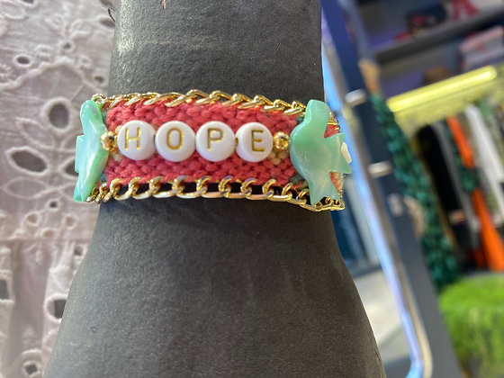 Bracelet Brésilien à message