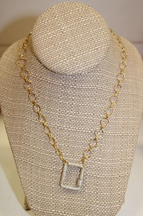 Square Locket Necklace