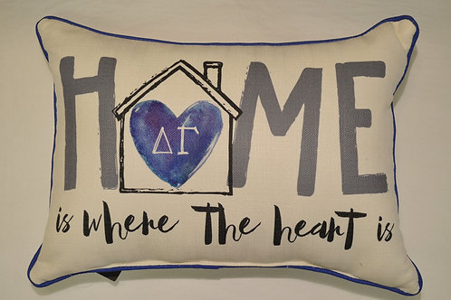 Delta Gamma Home Pillow