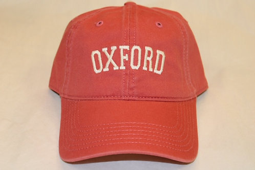 Red Oxford Hat