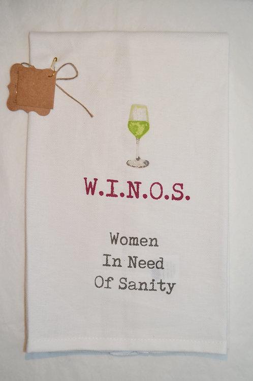 W.I.N.O.S. Towel